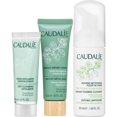 Caudalie Natural Cleansing Trio Set