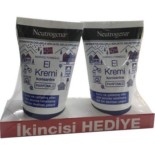 Neutrogena Parfümlü El Kremi 50 ml + Ikincisi Hediye