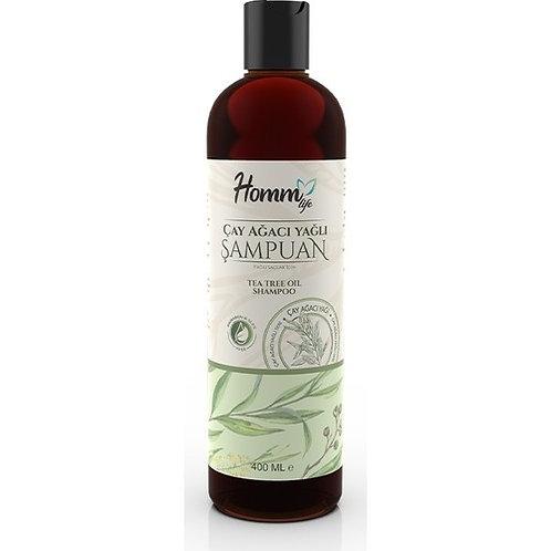 Homm Lıfe Çay Ağacı Yağlı Şampuan 400Ml