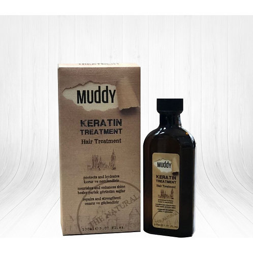 Muddy Keratin Treatment Oil 100Ml