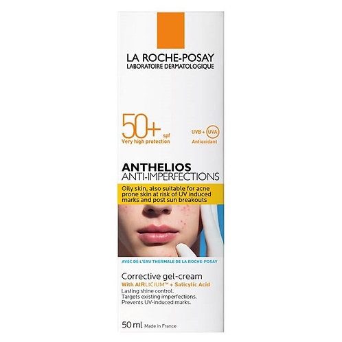 La Roche Posay Anthelios Anti Imperfections SPF 50 Güneş Koruyucu Jel Krem 50Ml