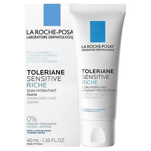 La Roche Posay Toleriane Sensitive Rich Nemlendirici Yüz Kremi 40Ml