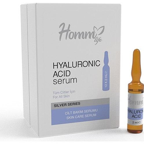 Homm Life Hyaluronic Acid Serum Tüm Ciltler 2 ml x 12 Adet