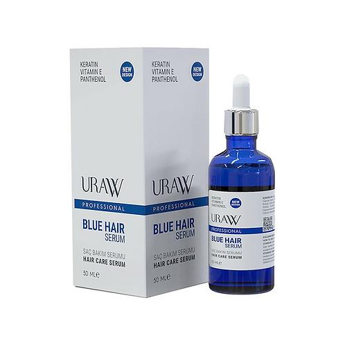 Uraw Cosmetics Blue Hair Serum (Mavi Serum) 50Ml