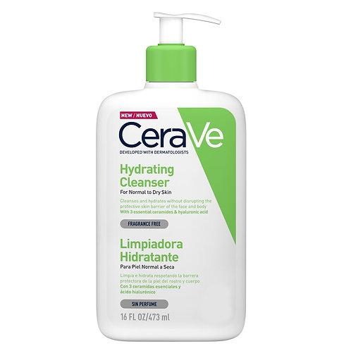 Cerave Hydrating Cleanser Normal & Kuruya Dönük Ciltler İçin 473Ml