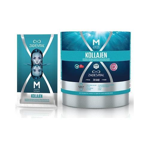 Zade Vital Marine Collagen + Hyaluronic Acid 28'li Saşe