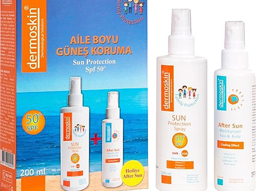 Dermoskin Sun Protection Spf 50 Aile Boyu - After Sun Hediyeli