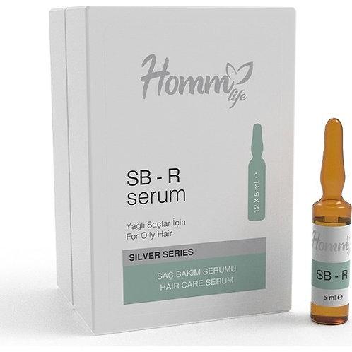 Homm Life Sb-R Saç Bakım Serumu - Yağlı Saçlar İçin 5 ml x 12 Adet