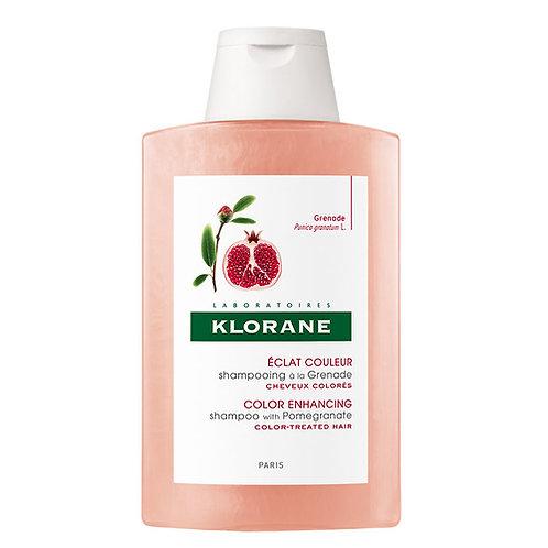 Klorane Grenade Nar Ekstresi İçeren Boyalı Saçlar İçin Koruyucu Şampuan 200Ml