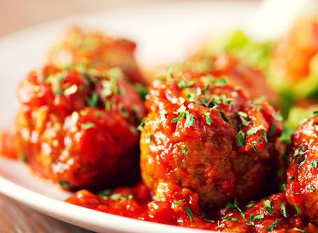 כדורי מש ברוטב עגבניות