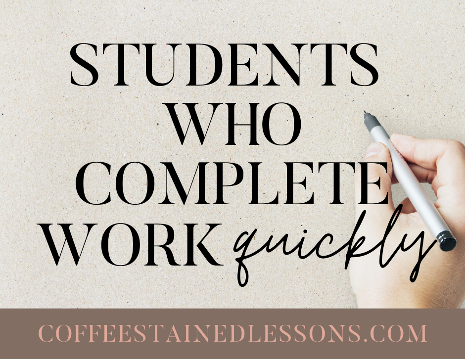 students-who-finish-work-quickly