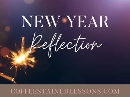 New Year Reflection