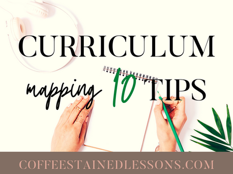 Curriculum Mapping (10 Tips)