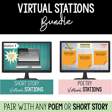virtual stations bundle for online teaching