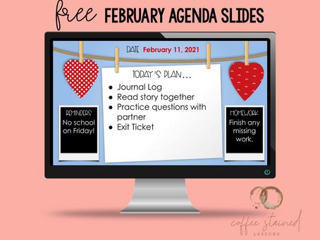 February 2021 Free Resource