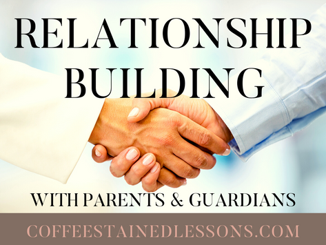 Relationship Building with Parents & Guardians