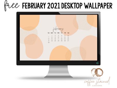 February 2021 Computer Wallpaper