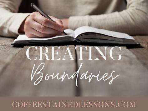 Creating Boundaries