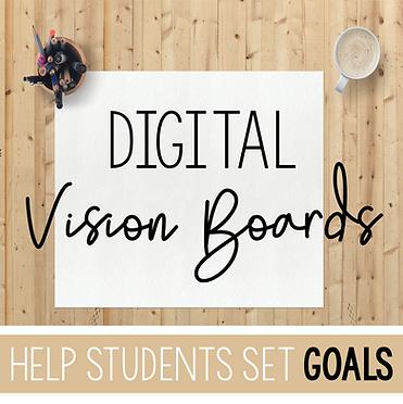 digital vision boards for students