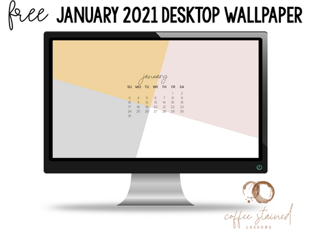 January 2021 Computer Wallpaper