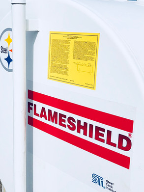 Flameshied STI Fire Rated Tank