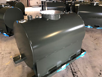 Heavy Duty Skids ready to Ship  Fork Tub