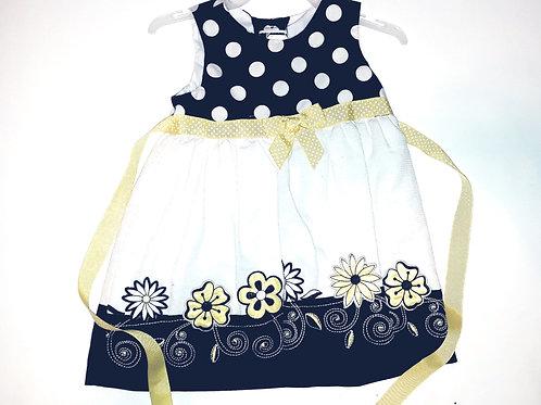 Poke-A-Dot Flower Dress