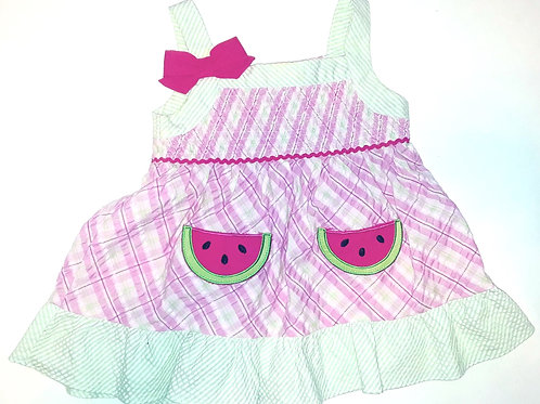 Watermelon Shortcake Dress