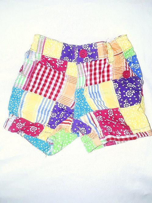 """""""Color Patch"""" Shorts"""