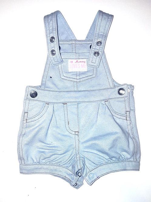 Denim Jumpsuit/Shorts
