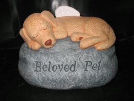 Beloved Pet Grave Marker(dog)