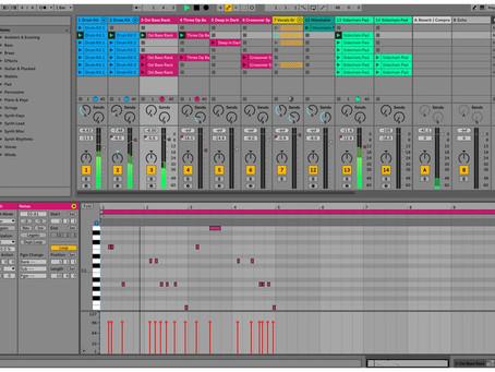 Ableton Live: eksportowanie audio