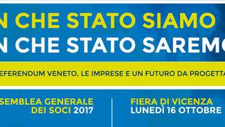 LUCA ZAIA OSPITE ALL'ASSEMBLEA DEI SOCI DI CONFARTIGIANATO VICENZA