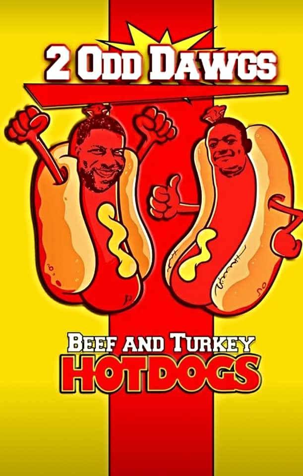 2 Odd Dawgs Logo