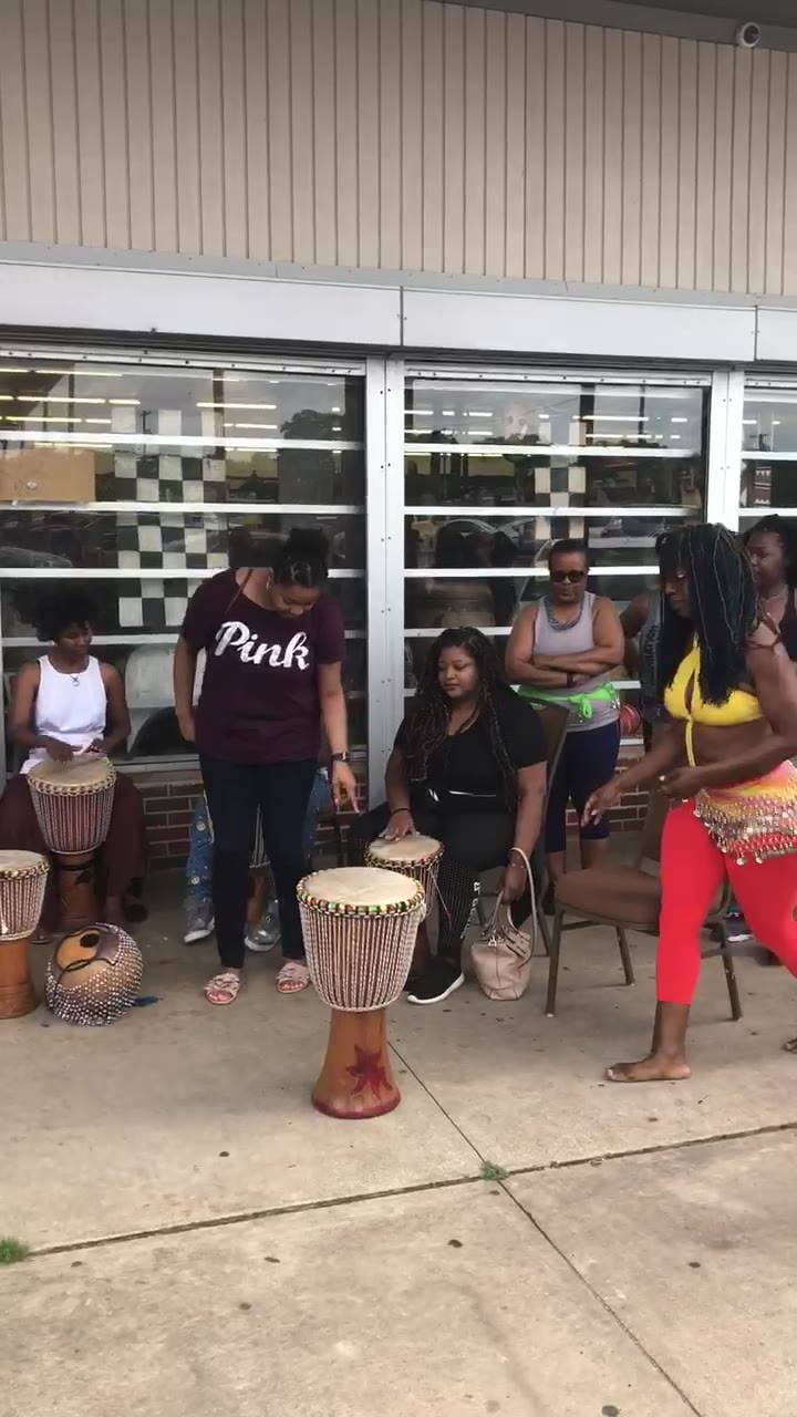 Sunday Drum circle and African belly dancing, at Pan-African Connection Bookstore. Come out and lets raise the African vibes and frequencies to the highest heights.