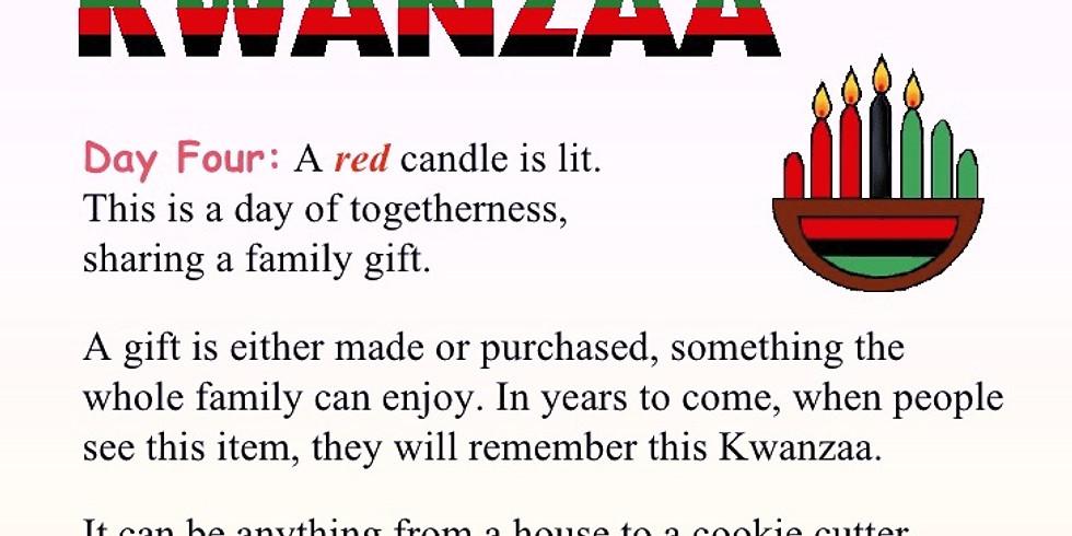 Kwanzaa Community Brunch: Ujamaa or Cooperative Economics