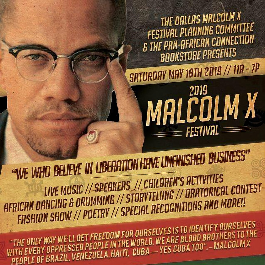 Malcolm X Fest, We Who Believe In Liberation/Unfinished Business