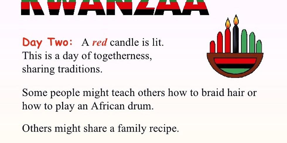 Kwanzaa Community Brunch: Kujichagulia or Self-Determination