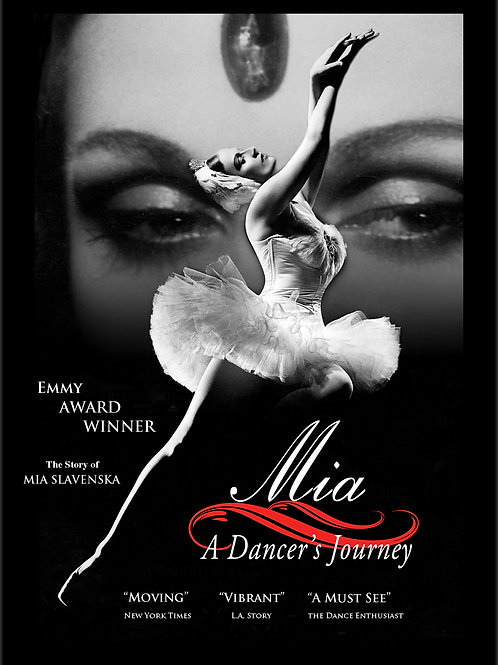 Mia, A Dancer's Journey DVD with Bonus Features