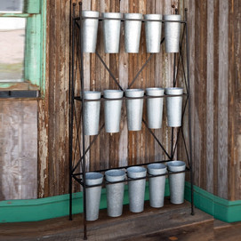Huge Farmhouse Flower Display Stand