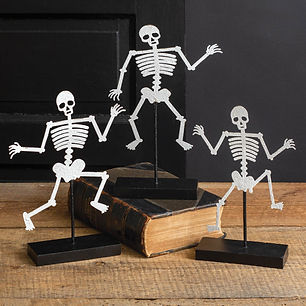 set-of-three-skeletons-with-wooden-base-
