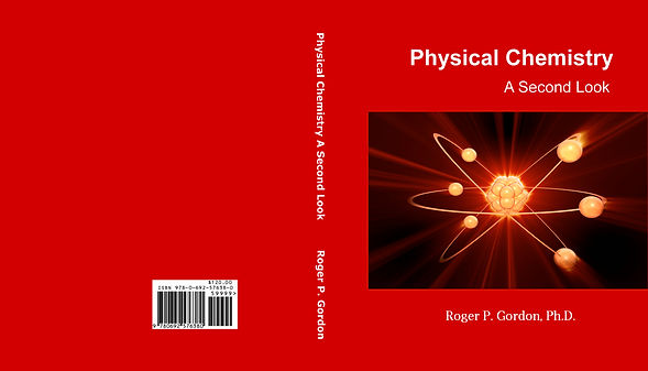 PHYSICAL CHEMISTRY BOOK COVER  - NEW (04