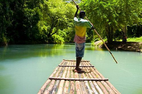 Martha Brae Bamboo Rafting