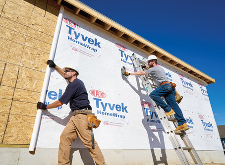 Wrapping it Up with Tyvek  (Updated:  04-29-20)