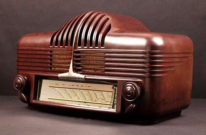 poste radio année 40