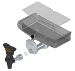VERSATILE S.S TAP AND TRAY KIT (S3301060:00)