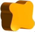 PLASTIC RETAINING KNOB - 2 UTS (S3300040:00)