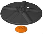 VER/ESS PLATE+HEXAGONAL BASE KIT (S3300300:00)
