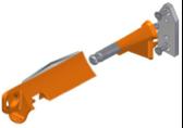 STAINLESS STEEL BLADE YOKE KIT (S3300580:00)