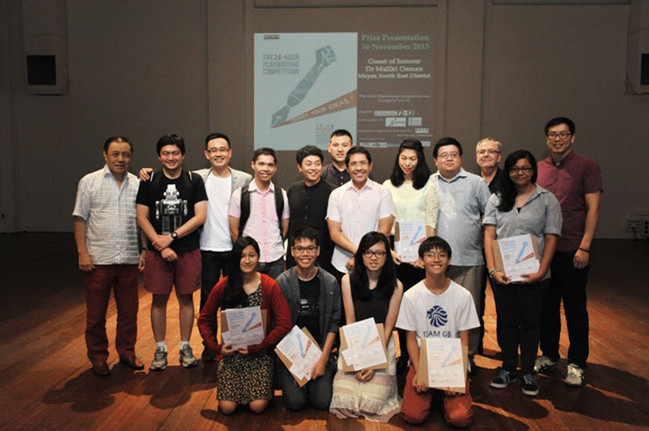 24-Hour Playwriting Competition Prize Presentation